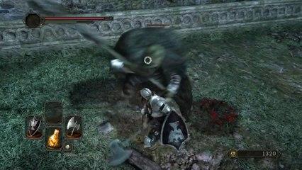 Battle Gameplay #1 de Dark Souls 2