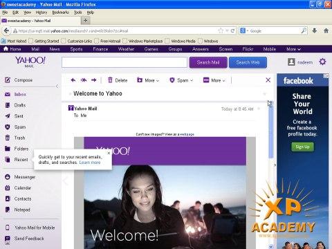 How to to Create Yahoo E-mail ID In urdu Tutorials (www.xpacademy.com)