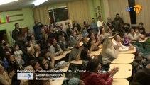 LCTV - Les parents des enfants de l'école Paul Bert en direct avec Praz-sur-Arly