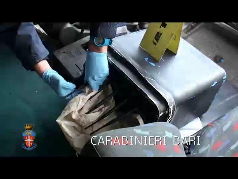 Banda dei tir, Bari: sgominata dai Carabinieri banda di ricettatori e sequestrati beni da 300mila eu