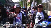 Thaïlande : les pro les et anti-gouvernement manifestent avant les élections