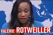 "Lapsus : Valérie Trierweiler devient ""Valérie Rotweiler"" au Gabon - ZAPPING ACTU HEBDO DU 01/02/2014"