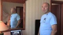 Pierre Woodman en pleine séance d'esperanto (Extrait Quarks)