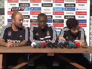 Futbolcularımız Atiba ve Olcay Şahan'ın Basın Toplantısı
