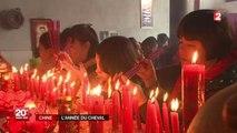 Le Nouvel An et l'année du cheval célébrés dans un village chinois