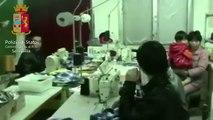 Senigallia (AN) - Laboratorio cinese clandestino (28.01.14)