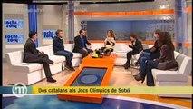 TV3 - Els Matins - Ander Mirambell i Pol Carreras, preparats per als Jocs Olímpics de Sotxi