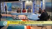 TV3 - Els Matins - Tertúlia del 20/01/14 (part 1). Tertúlia amb diputats catalans al Congrés.