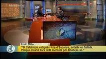 """TV3 - Els Matins - Enric Millo: """"Si Catalunya estigués fora d'Espanya, estaria en fallida"""""""