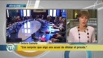"""TV3 - Els Matins - Dolors Camats: """"Ens sorprèn que algú ens acusi de dilatar el procés"""""""