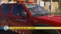 TV3 - Els Matins - El foc ha afectat cases i coberts