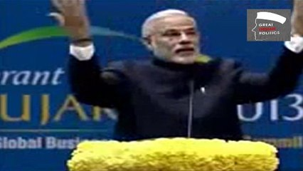 Narendra Modi on Industrial Development And Agriculture