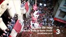 """TV3 - """"Quarts de nou"""" - Diada de Santa Úrsula a """"Quarts de nou"""""""