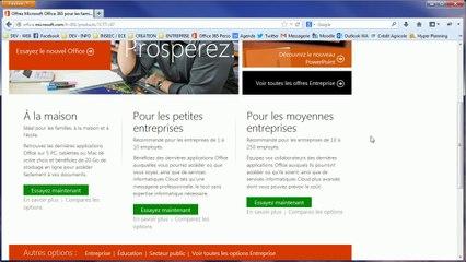 Office 365 : Le cloud, SkyDrive et votre compte Office