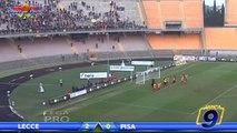 Lecce - Pisa 2-0 | Highlights and Goals | Prima Divisione Gir.B 16^ Giornata 15/12/2013