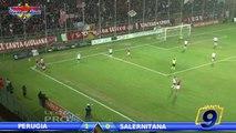 Perugia - Salernitana 1-0 HD | Highlights | Prima Divisione Gir.B 16^ Giornata 14/12/2013