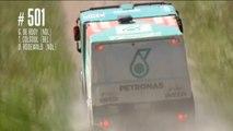 Resumen de la tercera etapa de quads y camiones del Dakar 2014