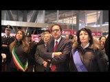 Napoli - Alla stazione il ricordo delle vittime della strage del treno 904 (23.12.13)