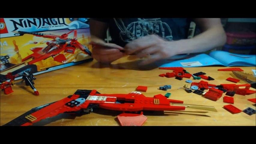 Lego Review - Ninjago Kai Fighter 70721