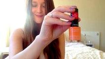 My first 'HAUL' ; revlon nailpolish, perfume, elizabetharden, clinique etc..