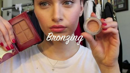 A simple Guide to blusher, bronzer and Highlighter ( Get Model-like Cheek Bones)