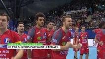 Handball - Coupe de la Ligue - Demi-finale Saint-Raphaël 41 - 41 PSG (6 tab à 5) -1/02/2014