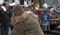 Budweiser Touching Soldier Homecoming Super Bowl XLVIII Commercial - Big Game 2014 - I'm Coming Home