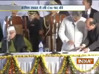 Harish Rawat sworn in Uttarakhand Chief Ministe