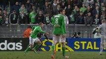Yohan MOLLO marque d'une SUPERBE frappe enroulée (87ème) - AS Saint-Etienne - Valenciennes FC - (3-0) - 01/02/14 - (ASSE-VAFC)