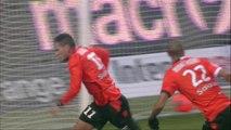 But Jérémie ALIADIERE (73ème) - FC Lorient - AS Monaco FC - (2-2) - 01/02/14 - (FCL-ASM)