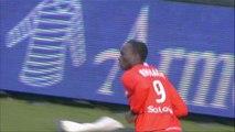 But Vincent ABOUBAKAR (12ème) - FC Lorient - AS Monaco FC - (2-2) - 01/02/14 - (FCL-ASM)