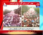 MQM processions lash BBC expressing solidarity with Altaf