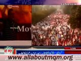 Haider Abbas Rizvi speech on MQM rally to express solidarity with MQM Quaid Altaf Hussain at New M. A. Jinnah Road in Karachi