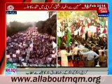 Farooq Sattar speech on MQM rally to express solidarity with MQM Quaid Altaf Hussain at New M. A. Jinnah Road in Karachi
