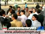 "MQM RC visit M.A Jinnah Road in Karachi for preparation of ""MQM rally to Express Solidarity with Altaf Hussain"""