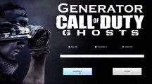 Call Of Duty Ghosts Générateur PS3 XBOX360 PC téléchargement gratuit