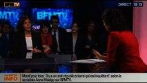 BFM Politique: L'interview d'Anne Hidalgo par Apolline de Malherbe - 02/02 1/6