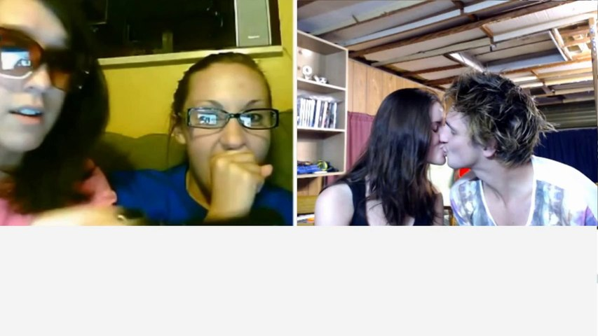 Kissing on Chatroulette