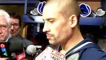 Tomas Plekanec after the Habs 2-1 overtime victory over the Blackhawks