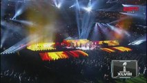 Super Bowl XLVIII 2014 - Bruno Mars and Red Hot Chili Peppers performing a Medley LIVE!