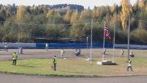 Speedway Motorcycle Racing Heat 2 - 4 Bikes