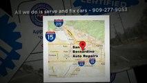 Auto Repair: 92410 Brakes & Alignment - San Bernardino