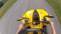Can Am Renegade 500 ATV Wheelies - GoPro Hero 2