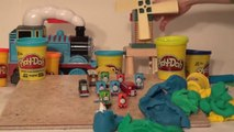 Play Doh Thomas And Friends Surprise Eggs, 12 Kinder Egg Style Surprise Eggs of Thomas and Friends
