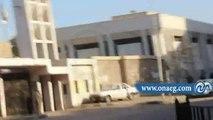 قوات #الأمن تفرق مظاهرات طلاب #الإخوان أمام #جامعة_عين_شمس اليوم