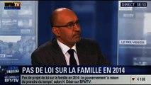 BFM Story: Le gouvernement ne présentera pas de projet de loi sur la famille en 2014 - 03/02