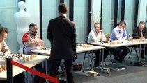 Silmutanée d'échecs avec Laurent Fressinet GMI
