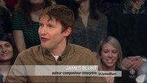 James Blunt interview: English/ French avec sous titres en Francais.