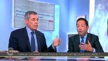 C à Vous : Clash entre Henri Guaino et Jean-Luc Romero