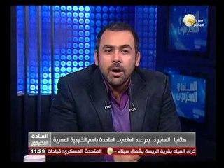السادة المحترمون: الخارجية المصرية تنتهي من كافة الإجراءات الخاصة بعملية الاستفتاء في الخارج